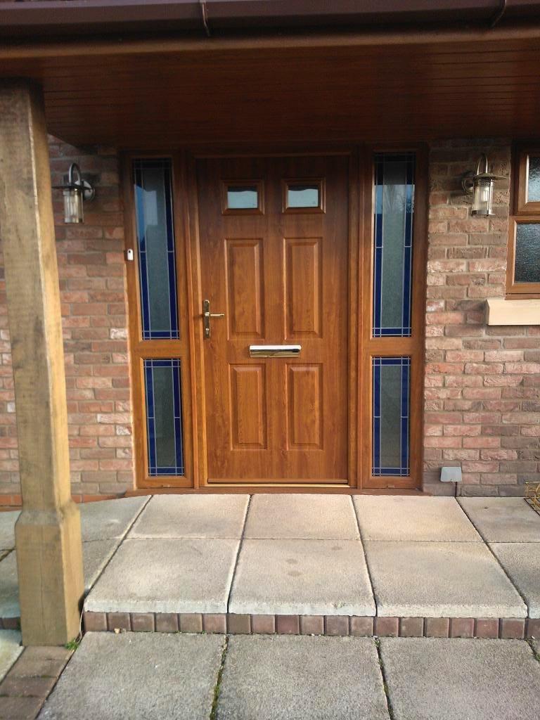 Tenby Side Panel Door- Timber Composite doors