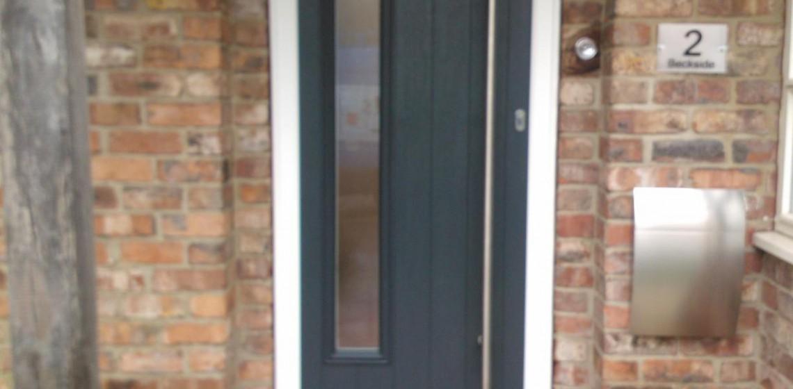 Brescia Timber Composite Door - Solidor