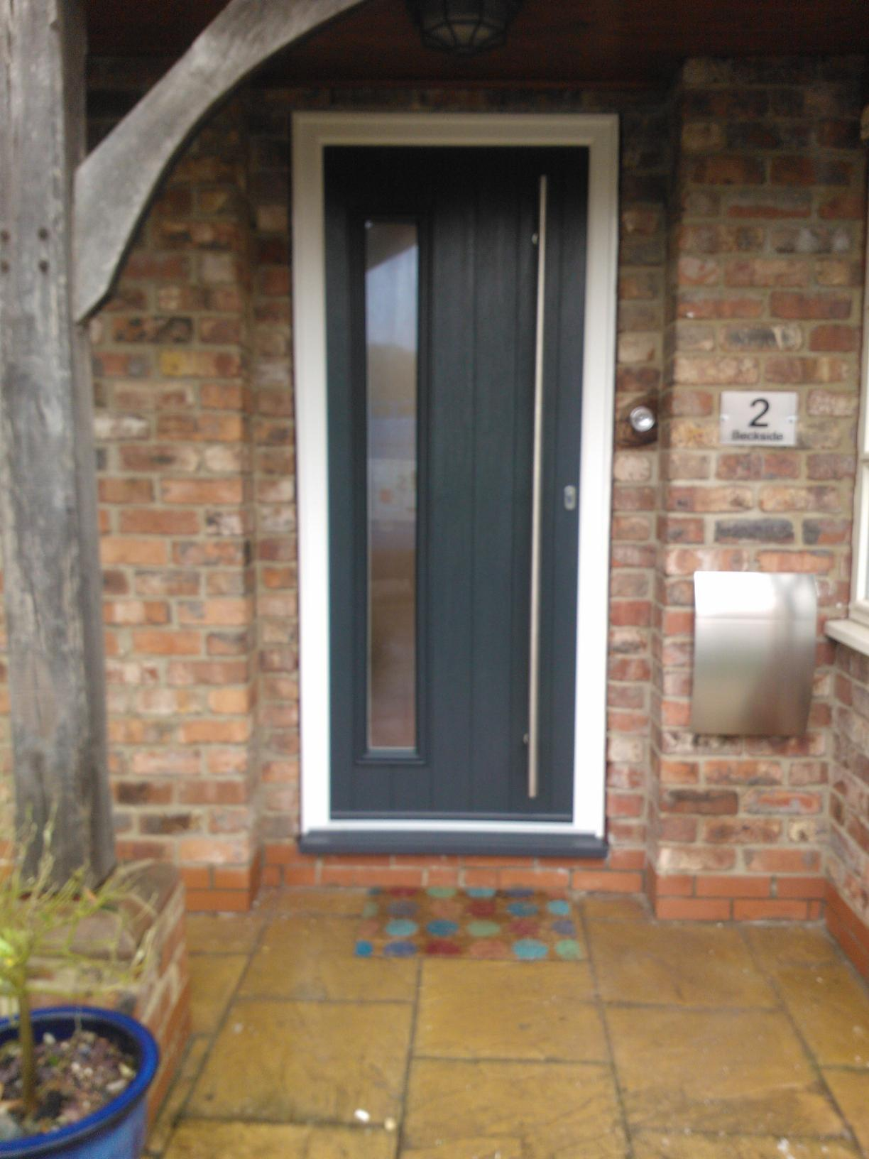 Brescia Timber Composite Door - Solidor