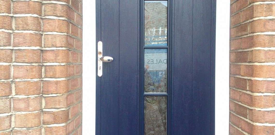 Solidor Italia Collection Florence Timber Composite Door in Blue