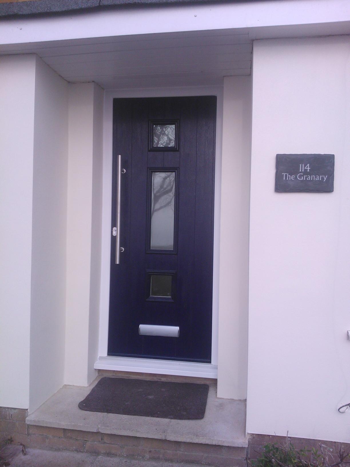 Solidor genoa composite doors by timber composite doors for Composite front doors