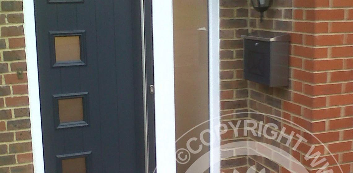 Anthracite-Grey-Milano-Solidor-Composite-Door & Solidor Milano Italia Composite Door in Anthracite Grey | Timber ...