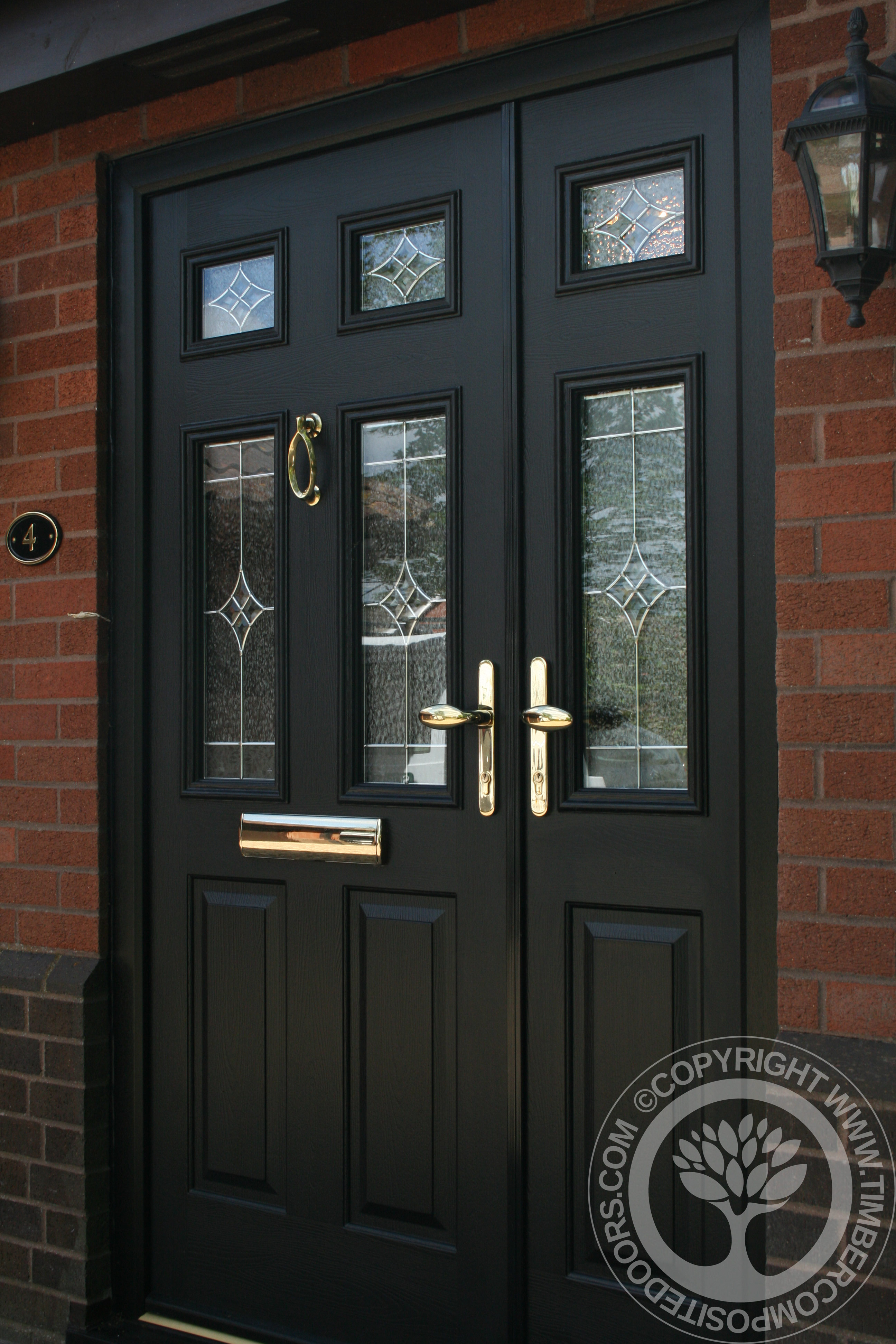 Solidor Tenby Black Timber Composite Door Our Door Of The