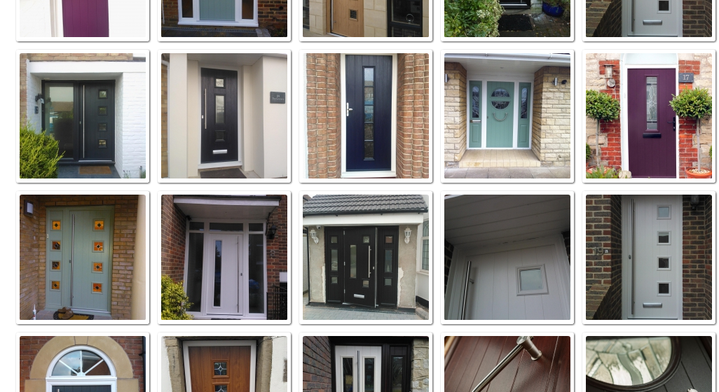 Fitted Solidor Composite Doors Images