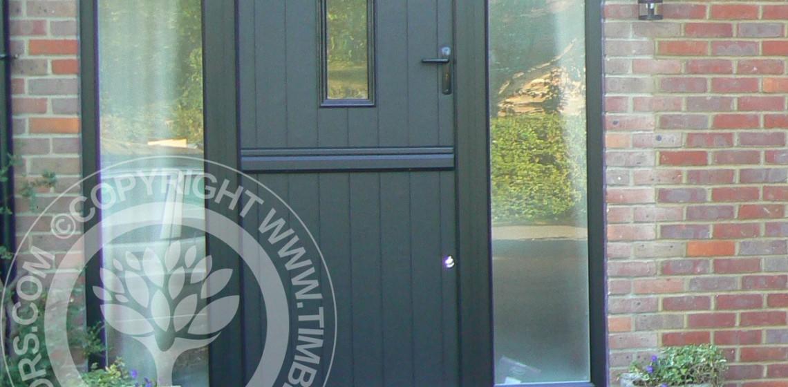 Solidor Flint Timber Composite Stable Door