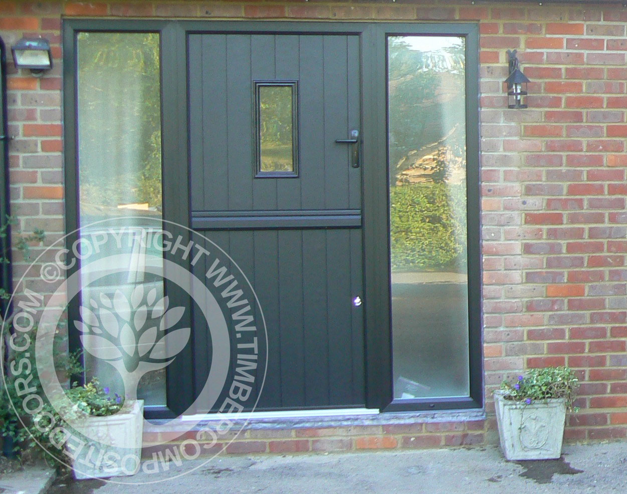 Stable Door Window : Flint solidor composite stable door timber