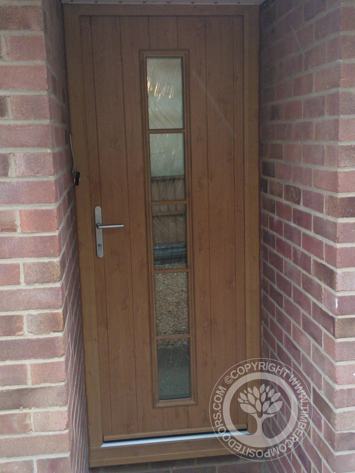 Irish Oak Florence Solidor Composite Door Timber