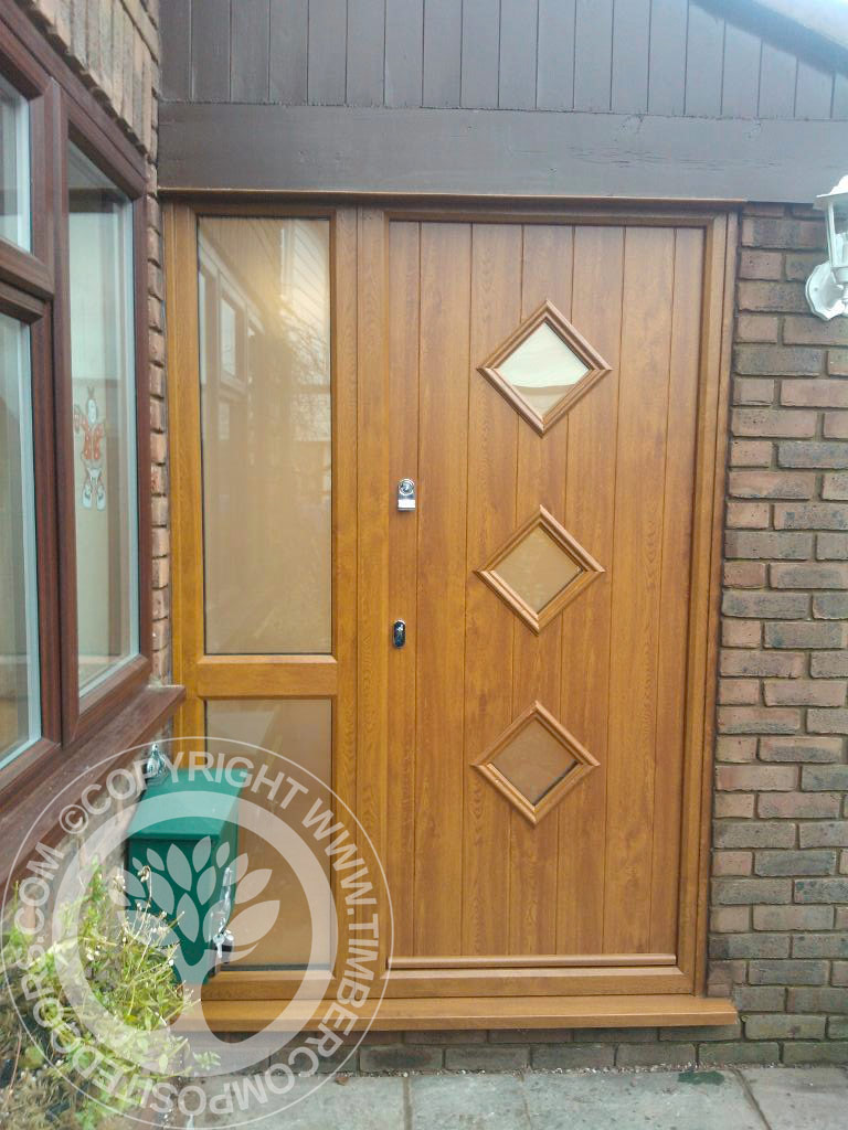 Irish oak solidor roma composite door timber composite for Doors for front door