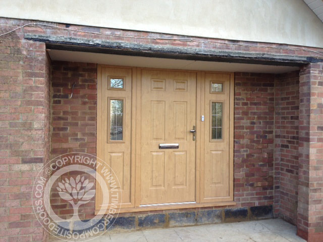 separation shoes e8391 dbc56 Irish Oak Solidor Tenby Timber Composite Door | Timber ...