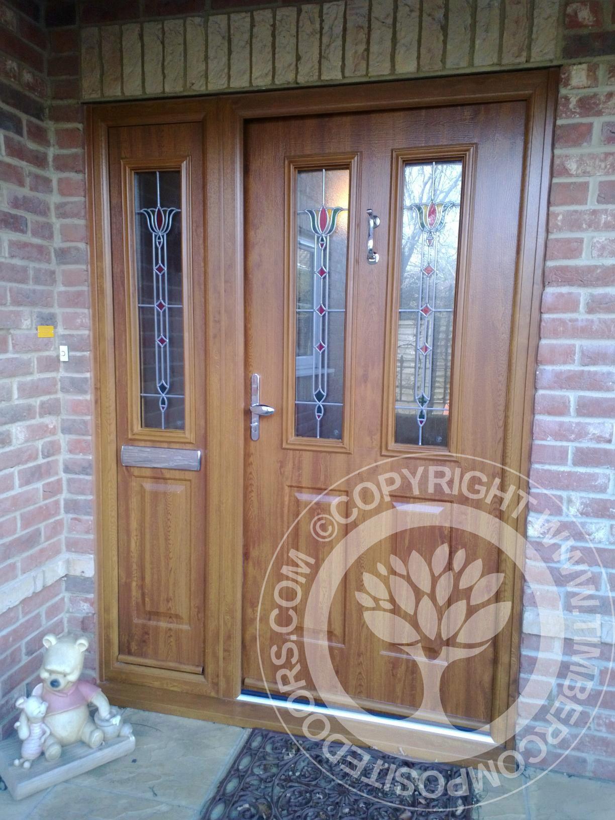 Awesome Golden Oak Upvc Front Door Ideas - Best Image Home Interior ...