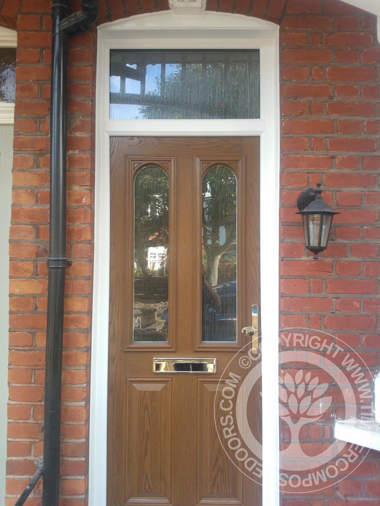 Oak Solidor Nottingham Timber Composite Door Timber