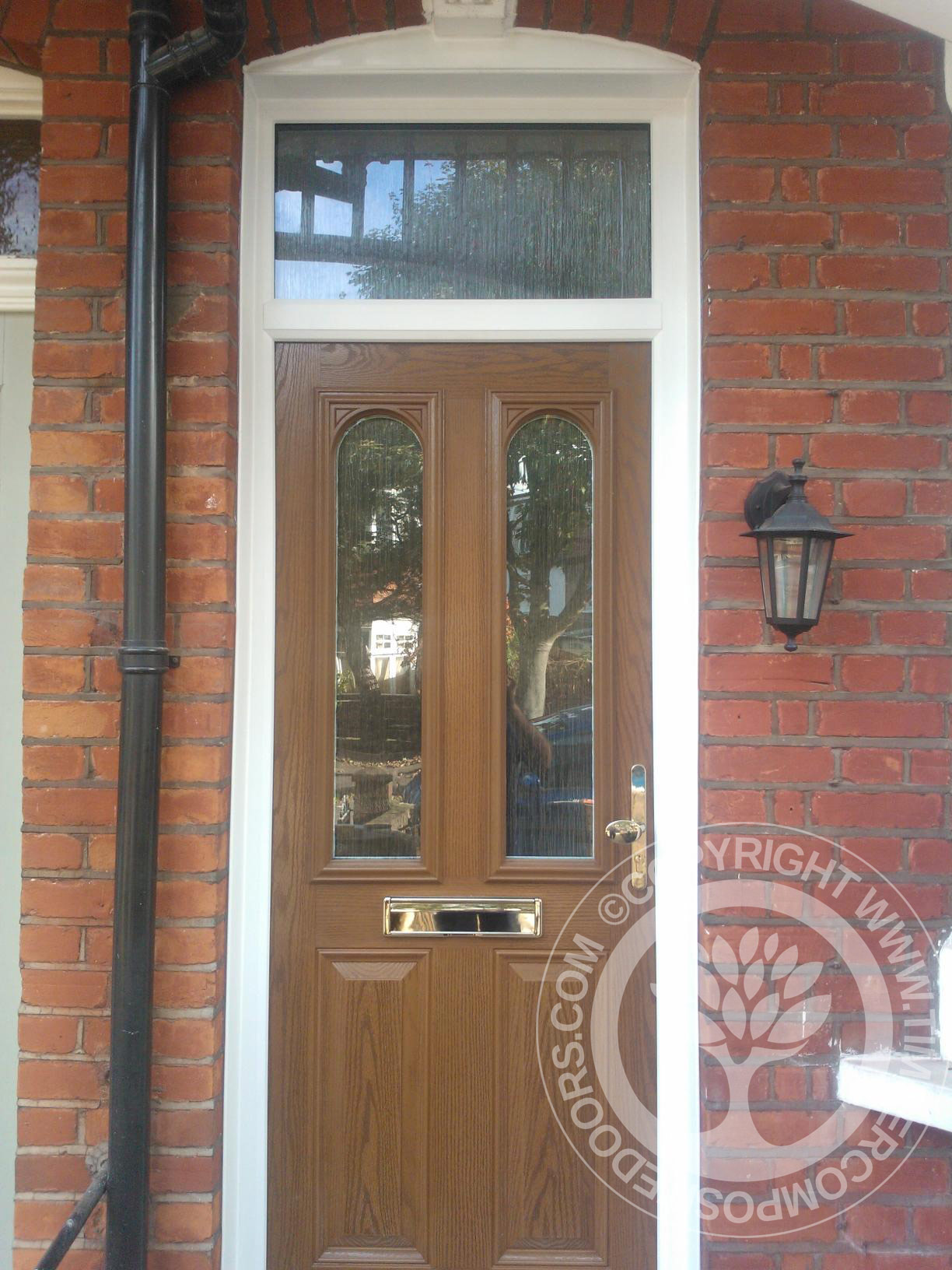 Oak Solidor Nottingham Timber Composite Door Timber