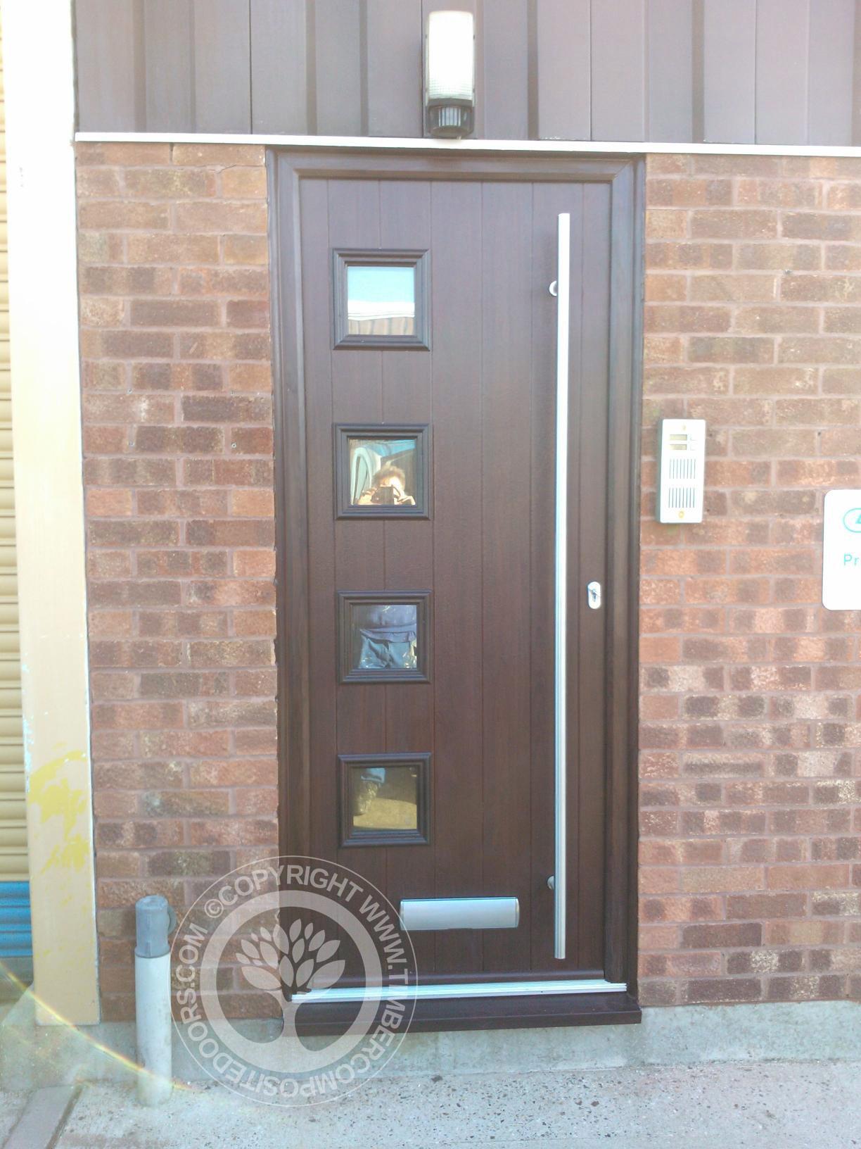 rosewood milano solidor composite door timber composite