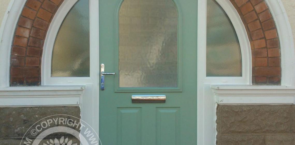 Arched Solidor Stafford Composite Door