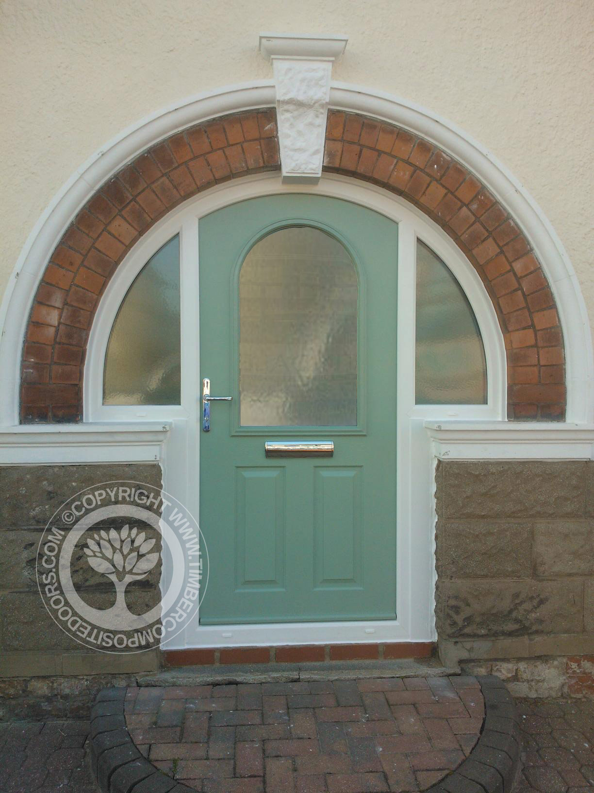 Arched Solidor Stafford Composite Door Something