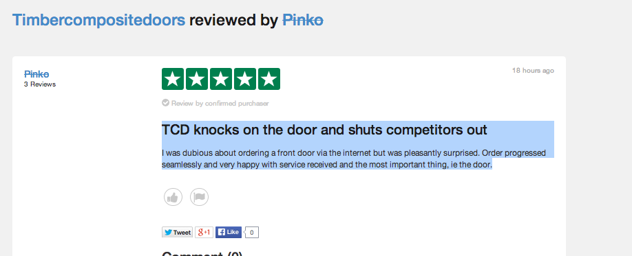 Composite door reviews