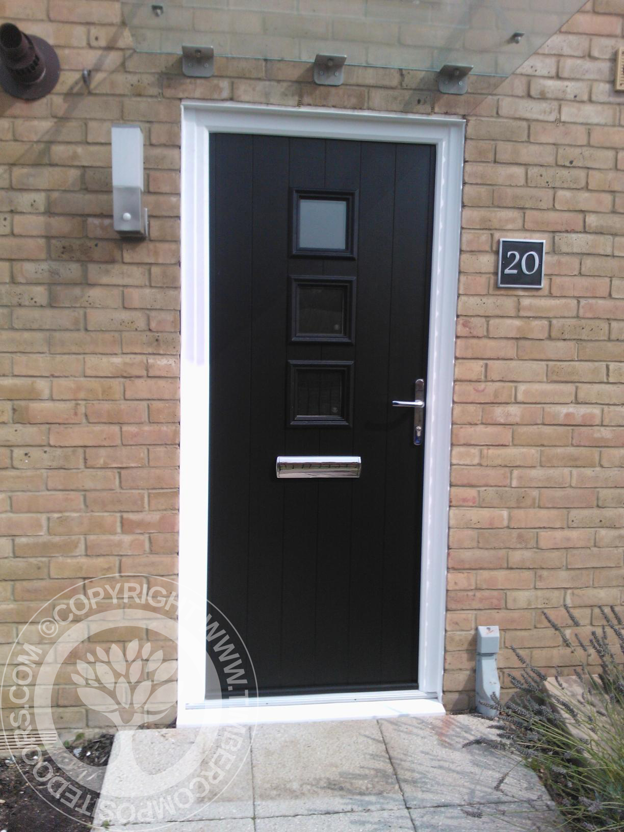 Front door colours by timber composite doors timber for Composite front doors