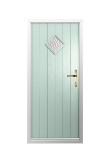 The Chartwell Green Bologna Solidor Timber Composite Door