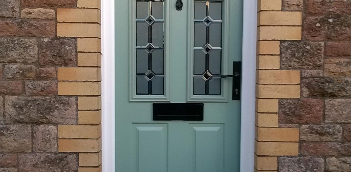 Front Doors To Let In Light : Let the light shine in with a solidor tenby timber