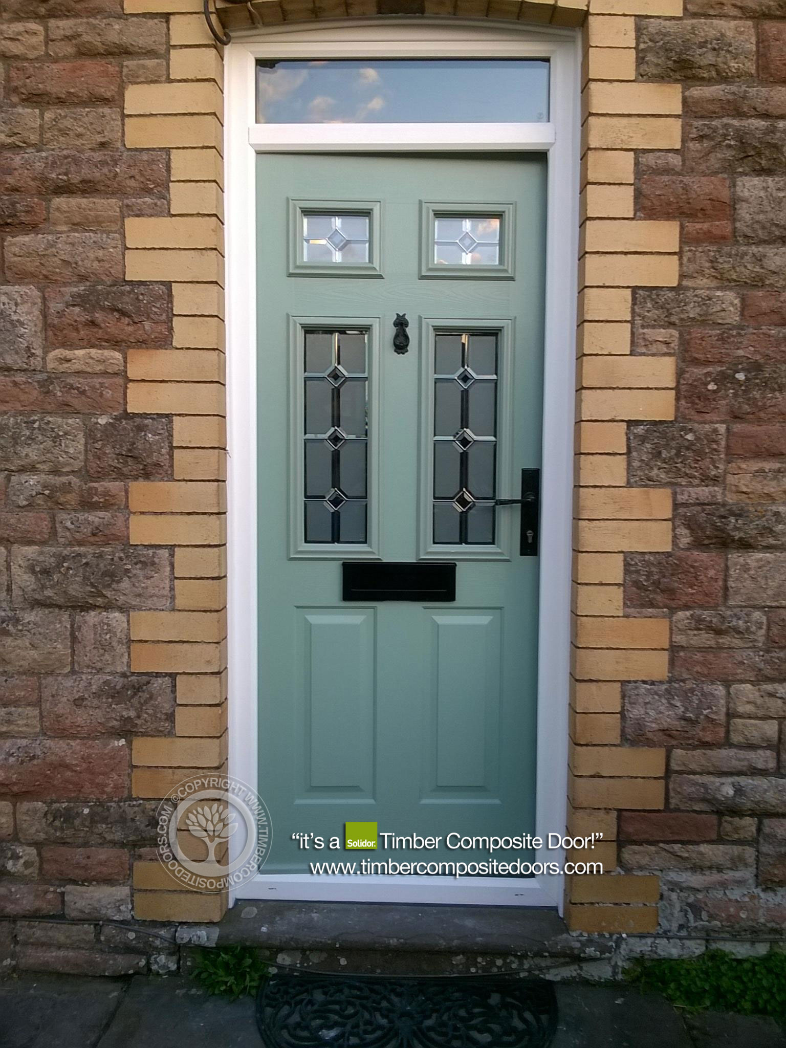 Let the light shine in with a solidor tenby timber for Front doors that let in light