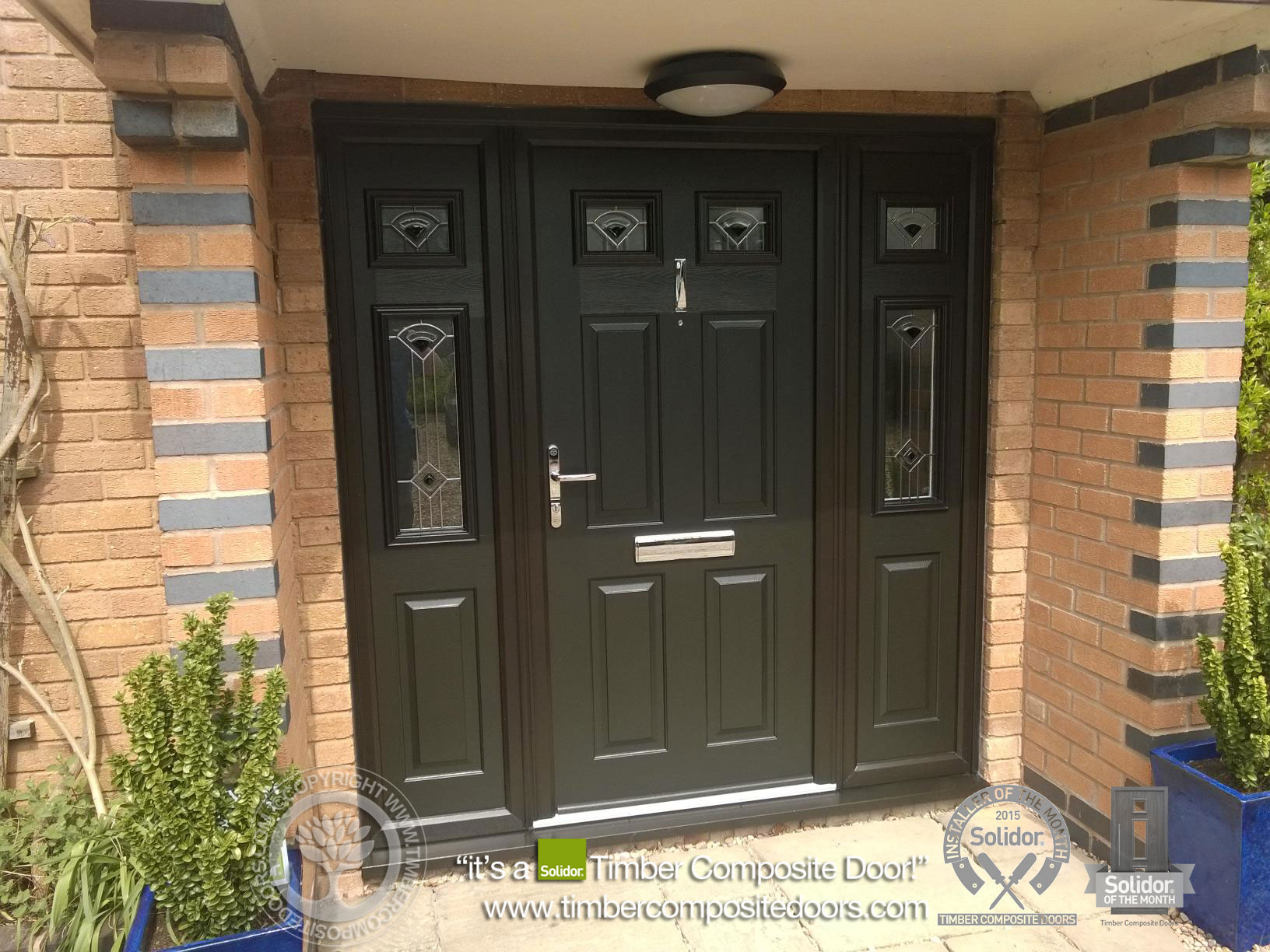 Enhancing homes solidor tenby timber composite doors blog for Exterior doors with side panels
