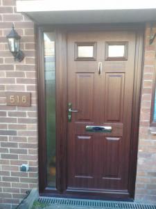 Rosewood Tenby Solidor Timber Composite Door