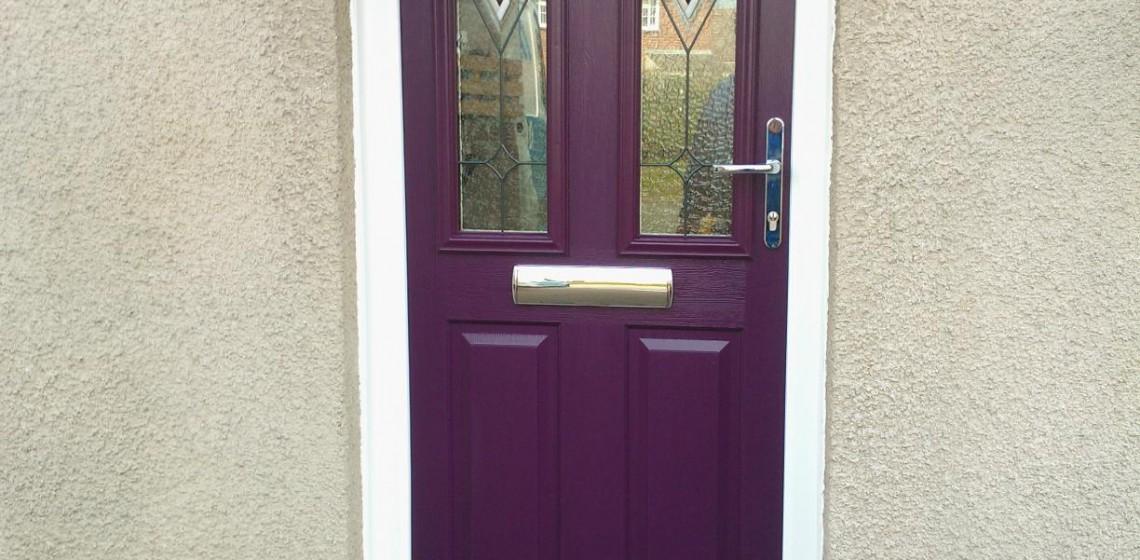 Purple Front Door Timber Composite Doors Blog