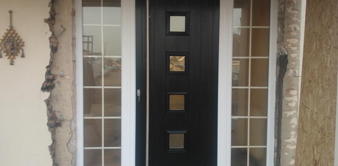 Black Solidor Parma Timber Composite Door