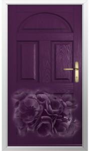 Aubergine Composite Door