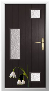 snowdrops and composite doors