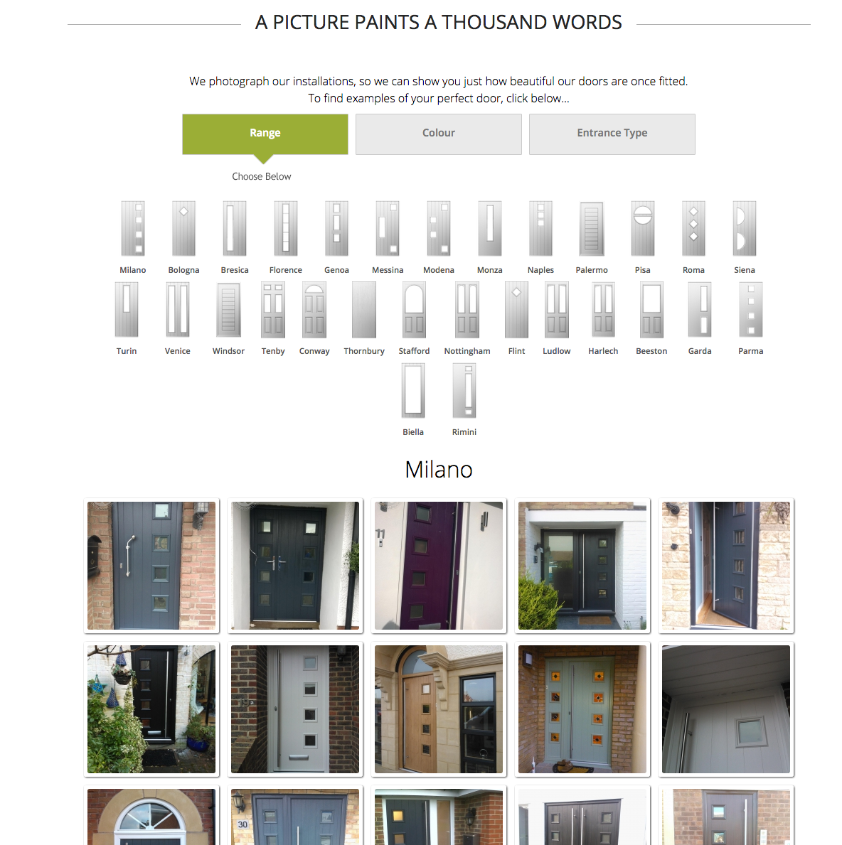 Composite door images
