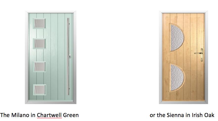 Solidor Milano Timber Composite Door
