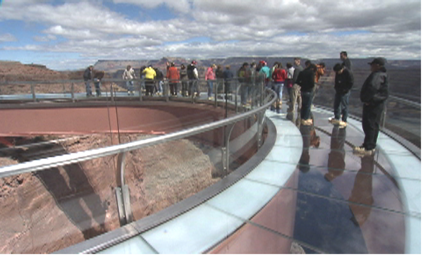 Grand Canyon Skywalk Glass