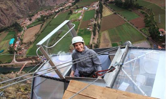 A night in the Glass Hotel Cusco Peru