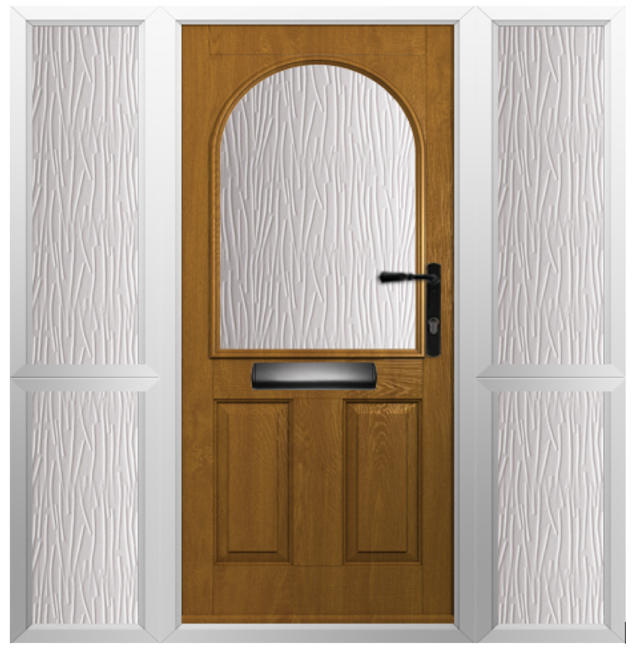 Solidor Stafford Timber Composite Door in Irish Oak