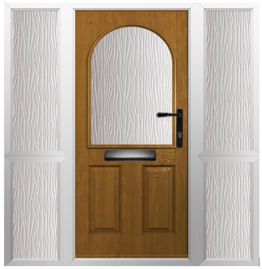Solidor Stafford Timber Composite Door in Irish Oak