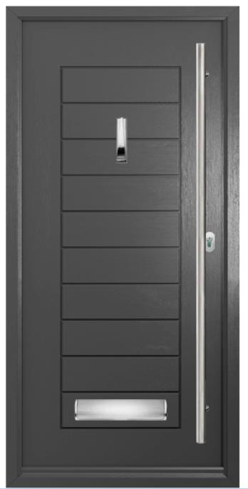 Solidor Palermo Timber Composite Door
