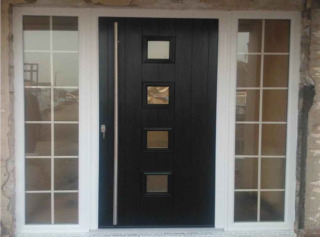 Solidor Parma Timber Composite Door Installed