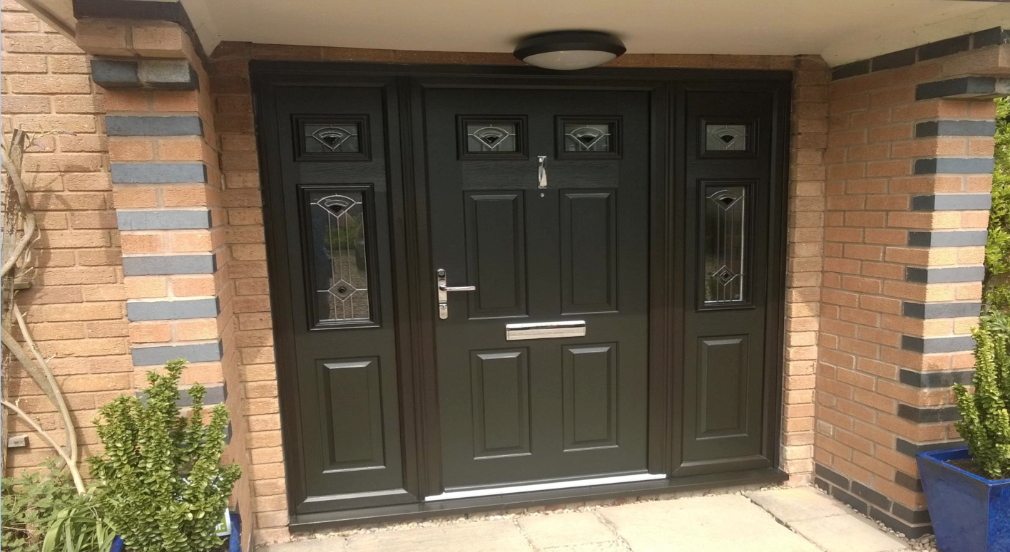 Solidor Tenby Timber Composite Door Installed