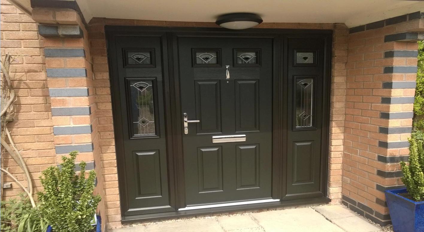 Solidor Tenby Timber Composite Door Installed