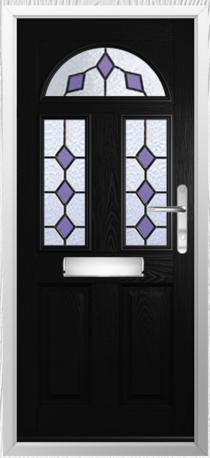 Solidor Conway Timber Composite Door in Black