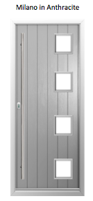 Solidor Milano Timber Composite Door