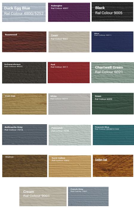 Solidor Timber Composite Door Colours