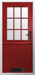 Red-Composite-Stable-Door