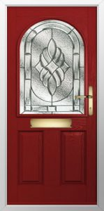 Red-Traditional-Composite-Door