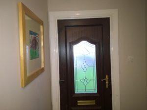 Mr & Mrs W original door 2