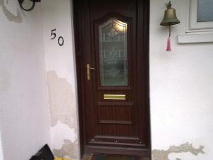 Mr & Mrs W original door 1