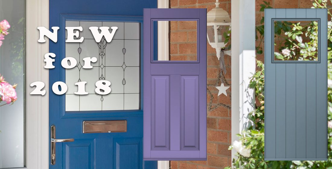 New Solidor Timber Composite Door Designs