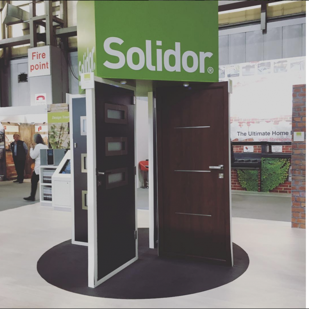 New Contemporary Solidor Timber Composite Doors