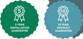 Installation & Product Guarantee